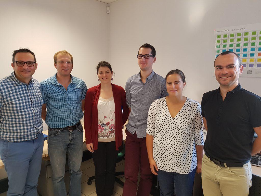 Photo de l'équipe du pôle simulation de CD Plast Engineering, bureau d'étude technique spécialiste de la conception de produits plastiques