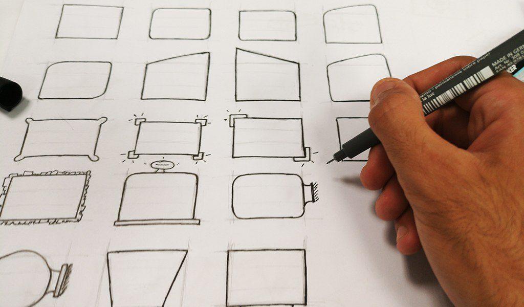 Croquis en vrac activité design