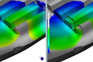 Simulation rhéologie, inclusion d'air
